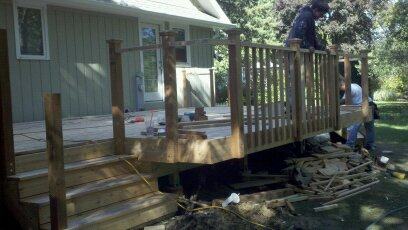 New Deck Build Wheaton, IL