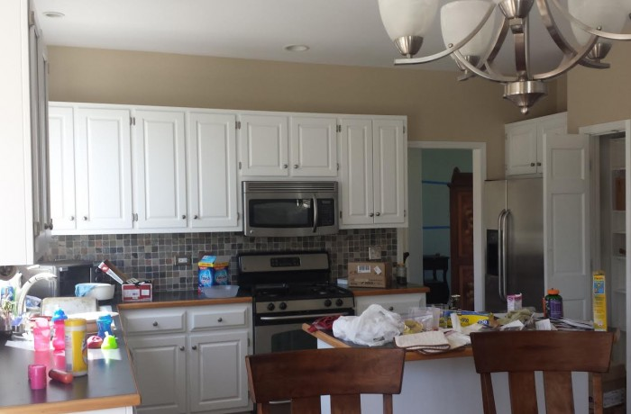 Kitchen Cabinet Remodel Naperville Drywall Repair