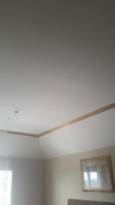 popcorn ceiling removal after