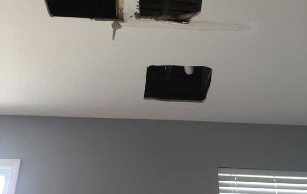 Drywall repair in Oswego