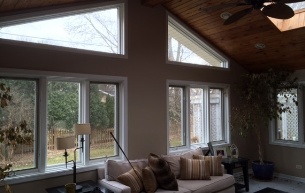 Repaint Walls/Trim in Sunroom Naperville
