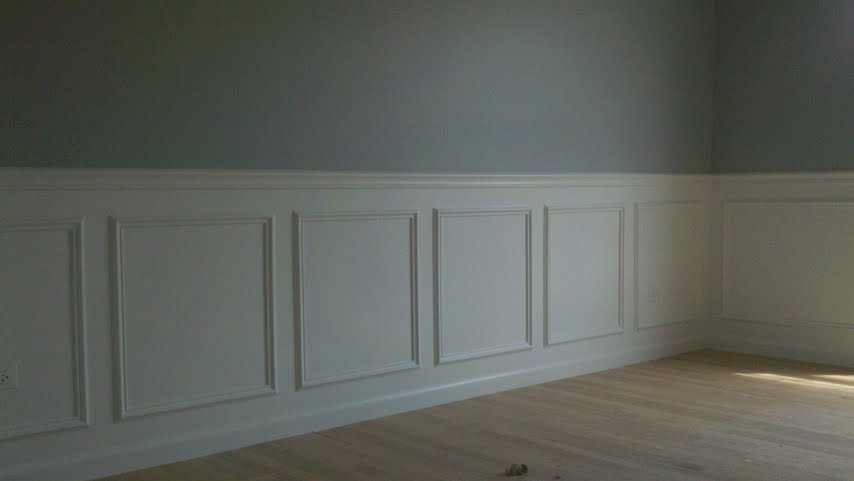 Painting Wainscoting White