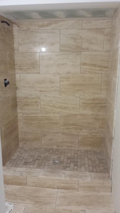 Bathroom Mosaic Tile Work Drywall Repair Painting