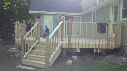 New Deck Build Wheaton Il Drywall Repair Painting