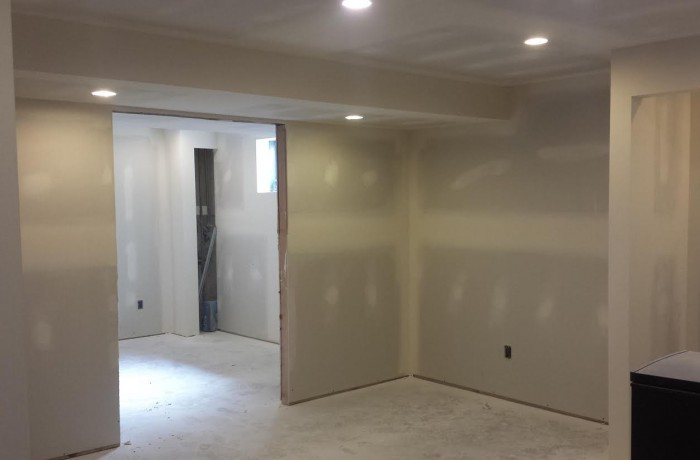 Drywall & Taping Basement