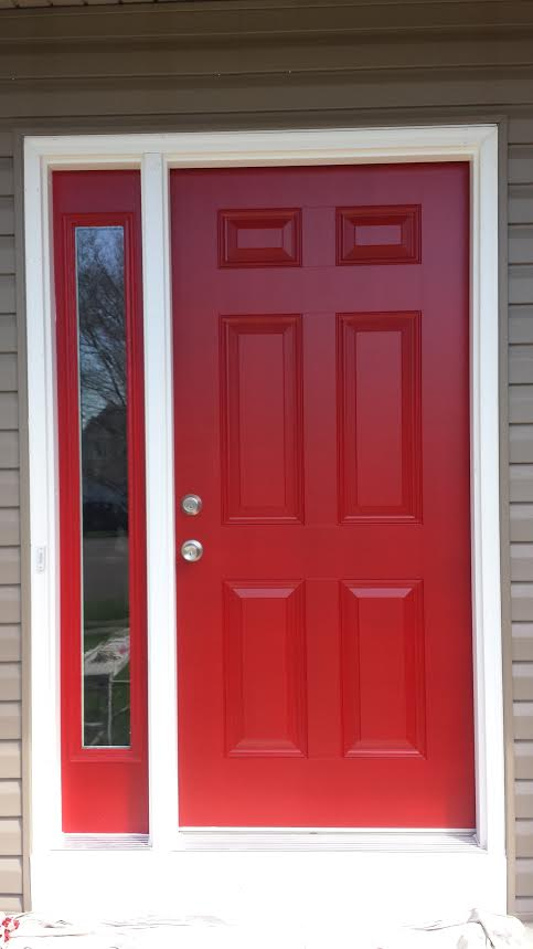 Front Door Paint Job Drywall Repair Painting Amp Remodeling Naperville Aurora Oswego
