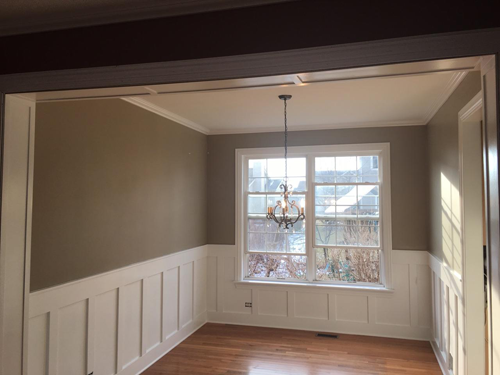 """""""Board and Batten"""" Style Wainscot"""