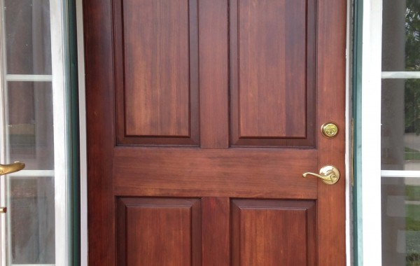Sycamore Door Refinishing & Repainting
