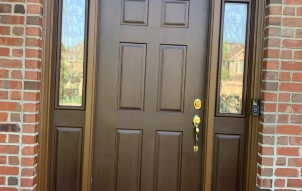 Fiberglass Door Strip/Refinish in St. Charles