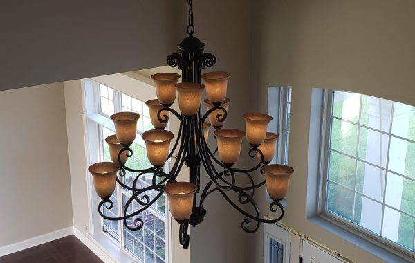 Chandelier Replacement in Plainfield