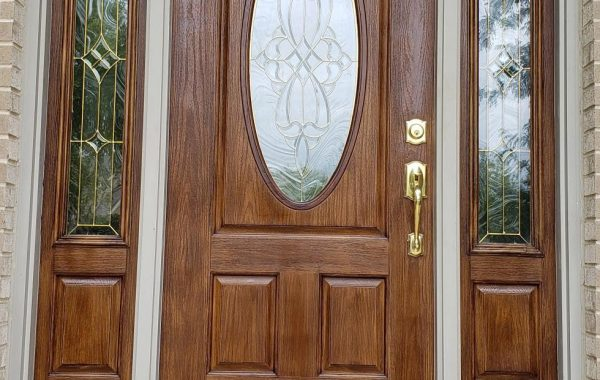 Naperville Fiberglass Door Strip/Refinish